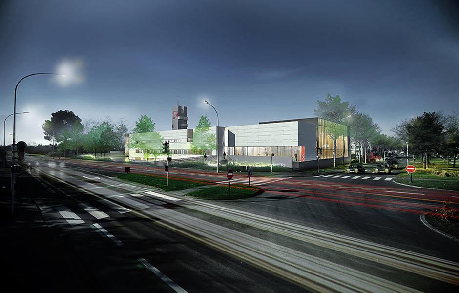 Centre d'incendie et de secours (SDIS) - Rennes Sud