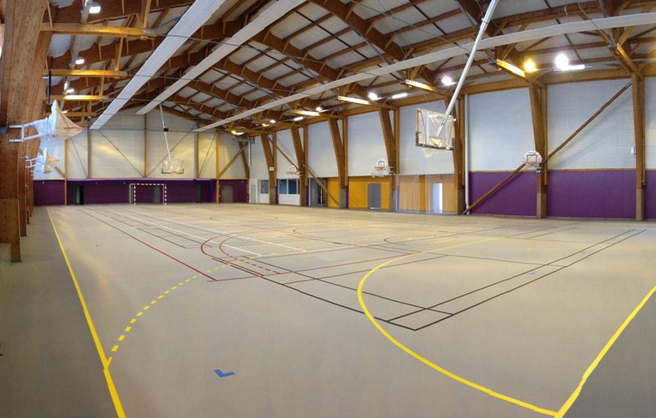 Salle de sports de Joué l'Abbé