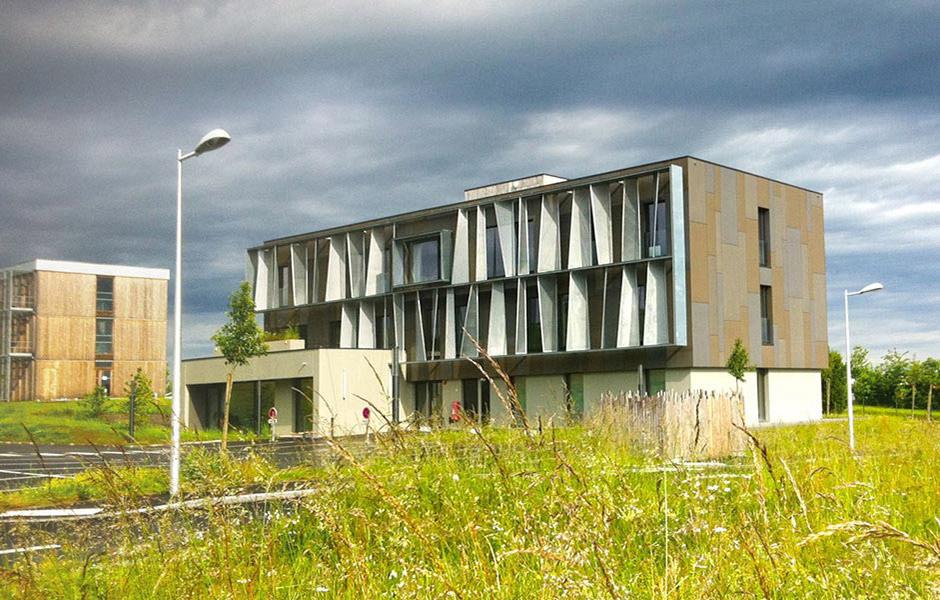 Immeuble de bureaux à Bain de Bretagne