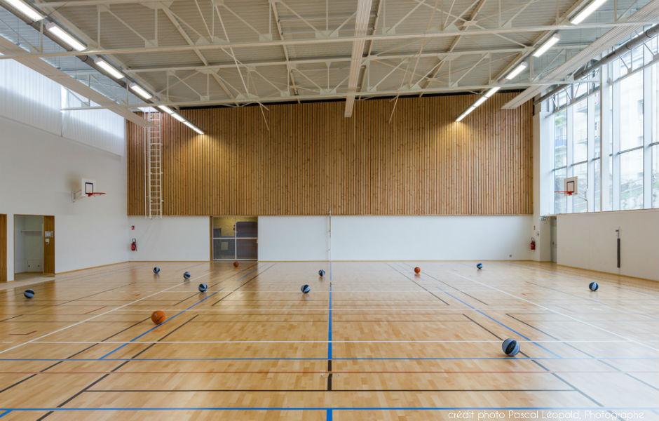 Gymnase Brizeux à Quimper