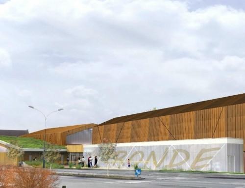 Salle des sports de la Ronde de Nueil-les-Aubiers (79)
